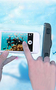 iphone 6/6 pluss kompatibel IPX8 vanntett pose 30m undervanns telefon tilfelle med armen band og snor (assorterte farger)