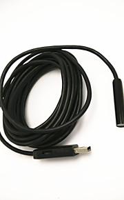 Cable length 5 m, diameter 10mm waterproof, dustproof USB industrial endoscope