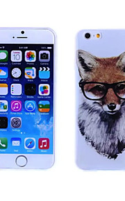 Fox Pattern TPU And IMD Soft Case for iPhone 5/5S