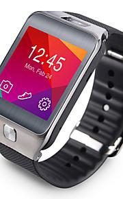 no.1 g2 Bluetooth 4.0 pedômetro taxa wearable vidro de safira smartwatch / / coração / à prova d'água / anti-perdeu para ios do smartphone