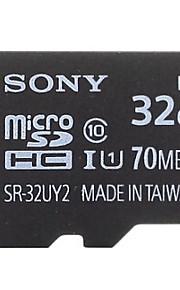SONY 32GB TF(MicroSDHC)UHS-1(Class10) 70M/S  Flash Memory Card High Speed Genuine