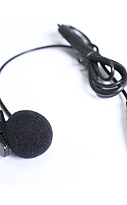 Top Quality Cardioid Lapel Tie Clip-on Lavalier Condenser Microphone XLR 3PIN