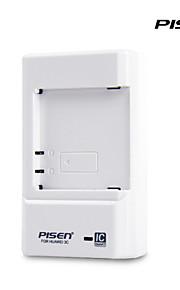 Pisen portable Huawei honneur 3c chargeur de batterie ii smart chargeur de téléphone portable avec ic murale pliable fiche blanche