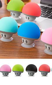 mini bærbare trådløse bluetooth høyttalere for iphone / samsung / ipad hendene fri aux svart / hvit 6 farger