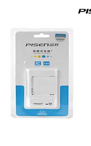 pisen sumsung portatile g9006v caricabatteria ii intelligente caricatore del cellulare ic con spina CA pieghevole bianco