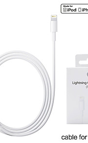 3.3ft (1m) mfi zertifizierten Blitz auf USB Synchronisationskabel für Apple iPhone 5 / 5s / 6.6 plus / ipad mini