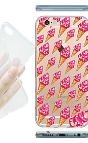 MAYCARI® Country of Ice-cream Transparent Soft TPU Back Case for iPhone6