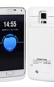 3800mAh Cassa di batteria di sostegno portatile esterno per la galassia s5 i9600 (colori assortiti)