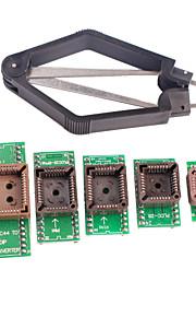 DIY PLCC IC Testing Seat Adapter Kit