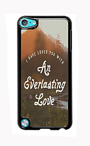 아이팟 터치 5 영원한 사랑 디자인 알루미늄 높은 품질의 경우