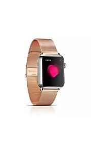 milan Nisi metall klockarmband med rostfritt stål adapter för Apple iwatch38mm / 42mm blandade färger