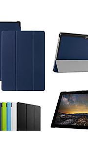 dengpin 10.8''pu lederen tablet beschermende case cover met standaard voor Microsoft Surface 3 (verschillende kleuren)