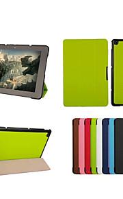 dengpin pu lederen tablet beschermende case cover met standaard voor Asus Transformer boek t1 chi t100chi (verschillende kleuren)