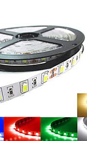 Ding Yao 5 M 300LED 5730 SMD Warm White/Hvid/Rød/Blå/Grøn Kuttbar W Fleksible LED-lysstriper DC12 V