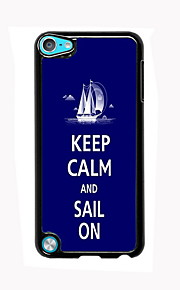 Keep Calm and Sail On Design Aluminum High Quality Case for iPod Touch 5