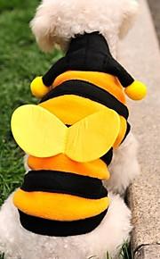 옐로우 - 웨딩/코스프레 - 폴라 양털 - 티셔츠/후드 - 개/고양이