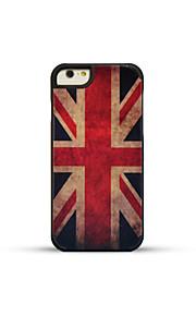 gmzs houten kist Britse vlag bamboe achterkant voor iphone6