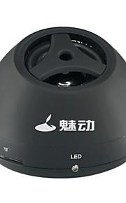 md - 9110 kort liten subwoofer mini audio mp3 bærbar utendørs stasjonær datamaskin