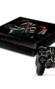 PS4 3D Protective Sticker Cover Skin Controller Skin Sticker