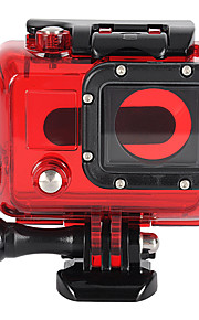 Professional 45m Waterproof Underwater Housing Protective Case for Gopro Hero 3+/3 - Red
