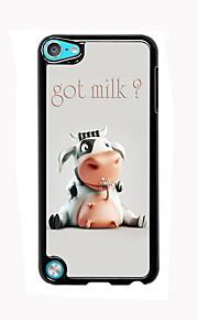 아이팟 터치 5있어 우유 디자인 알루미늄 높은 품질의 경우