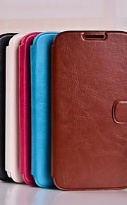 pu lommebok ultra-tynne spenning mobiltelefon hylster til Samsung Galaxy e5 e7 J5 J7