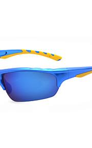 Solbriller menn's Klassisk / Sport / Polarisert Wrap Svart / Hvit / Rød / Blå Solbriller Halvkant