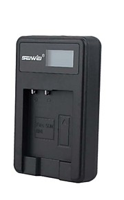 camera acculader met het scherm voor Sony NP - BN1 zwart