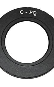 câmera c montagem de lente cctv lente Pentax q Q7 q10 câmera q-s1 montar anel adaptador c-cp pq / q