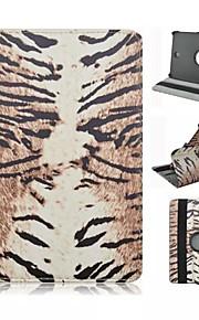 картины леопарда зерна пу кожаный полный случай тела с подставкой для Samsung Galaxy Tab 8.0 s2 T715 / вкладку s2 9,7 T815