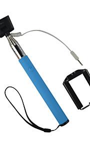 z07-5s kabel monopod kabel tage pole selfie stick til mobiltelefon og kamera håndholdt portræt størrelse: 35x8x8cm