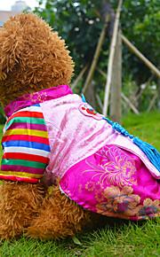 Azul/Rosado Algodón - Vestidos - Perros -
