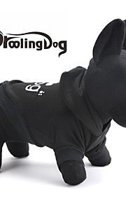 "DroolingDog®Lovely ""Addog"" Pattern Fleeces Hoodies T-Shirt for Dogs(Assorted Sizes)"