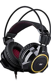 gaming headset auricolare giochi per computer siberia v5 vocale una cuffia con le cuffie da gioco microfono
