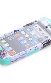 Custodia rigida protettiva 3-in-1 disegno nazionalità modello per iPod touch 6 colori assortiti
