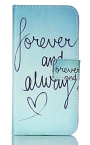 EFORCASE Always Love Painted PU Phone Case for Galaxy S6 edge S6 S5 S4 S3 S5 mini S4 mini S3 mini