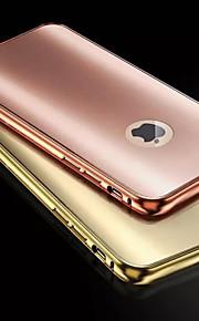 etter metallrammen telefonen skallet plating skall for iPhone 6/6-ere (assorterte farger)