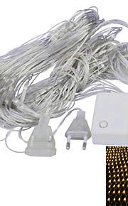JIAWEN® 1.6 M 96 Dip Led 웜 화이트 / 퍼플 연결가능 4 W 스트링 조명 AC220 V