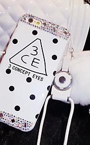 lady®elegant / personlighed / luksuriøse telefon tilfældet for iphone6 / 6s (4.7), dekoreret med Camellia diamant, flere farver