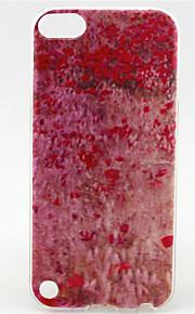 modello verniciatura a polveri ciliegio TPU custodia morbida per il tocco 5 / touch 6