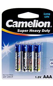 camelion super zware primaire batterijen AAA (4 stuks)