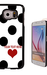 Personalized Case - Elegant Dots Design Metal Case for Samsung Galaxy S6/ S6 edge/ note 5/ A8 and others