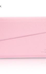 gearmax® no-glidelås kvinner menn mote PU lær vanntett futteral bag for MacBook Air 11.6 med retina