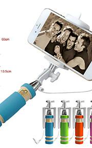 vormor®extendable drahtgebundenen Fernauslöser Hand Selfie-Stange Einbeinstativ für iphone Samsung