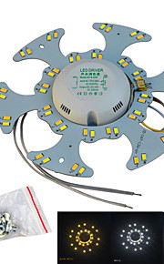Jiawen 12W 1200LM White/Warm White Double color Light Source for Ceiling Lamp/Magnetic Nail(AC170~265V)