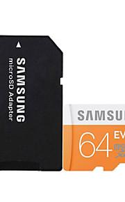 originais classe 64gb 10 microSDHC cartão de memória tf UHS-1 Samsung com adaptador de cartão SD