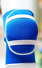 Knee Brace Sports Support Stretchy / Thermal / Warm Climbing / Basketball / Football Black / Blue