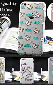 maycari®unicorn der Märchenland-TPU zurück Fall für iPhone 6 / iphone 6s (verschiedene Farben)