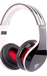 mq81 3,5 milímetros fio de fone de ouvido de jogos headband - branco + + vermelho multicolor