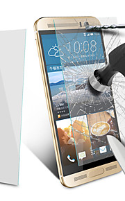 2.5d 0.4mm angibabe redondeado protector de pantalla de cristal templado borde de HTC uno m9 + 5,2 pulgadas